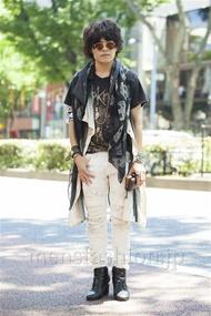 ファッションコーディネート原宿・表参道 2014年07月 nabescoさん