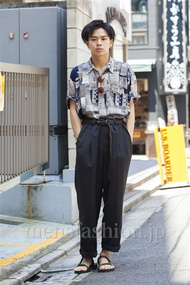 ファッションコーディネート原宿・表参道 2014年07月 平塚章悟さん