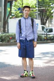 ファッションコーディネート原宿・表参道 2014年07月 machiさん