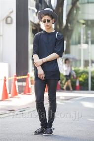 ファッションコーディネート原宿・表参道 2014年07月 岡崎 翼さん