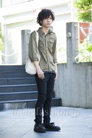 ファッションコーディネート原宿・表参道 2014年07月 Wataさん