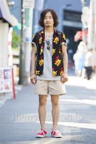 ファッションコーディネート原宿・表参道 2014年07月 對馬啓示さん