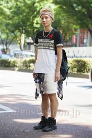 ファッションコーディネート原宿・表参道 2014年07月 新田快広さん
