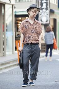 ファッションコーディネート原宿・表参道 2014年07月 アンドウコウイチさん