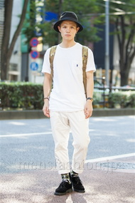 ファッションコーディネート原宿・表参道 2014年07月 川田晋吾さん
