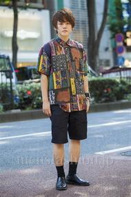 ファッションコーディネート原宿・表参道 2014年07月 安田賢司さん