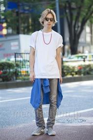 ファッションコーディネート原宿・表参道 2014年07月 シバサキタイキさん