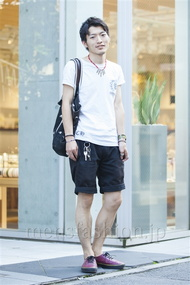 ファッションコーディネート原宿・表参道 2014年07月 大河光太朗さん