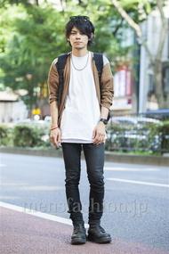 ファッションコーディネート原宿・表参道 2014年07月 黒山慶司さん