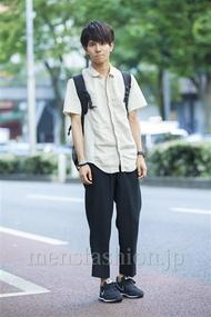 ファッションコーディネート原宿・表参道 2014年07月 佐川 隼さん