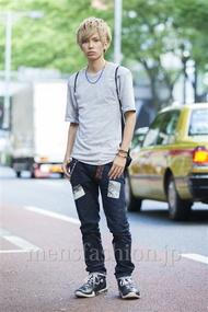 ファッションコーディネート原宿・表参道 2014年07月 糸川耀士郎さん