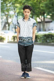ファッションコーディネート原宿・表参道 2014年07月 増渕雄一さん