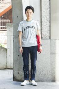 ファッションコーディネート原宿・表参道 2014年07月 青山清志さん