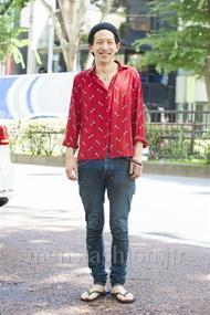 ファッションコーディネート原宿・表参道 2014年07月 Yoshiharu Matsuoさん