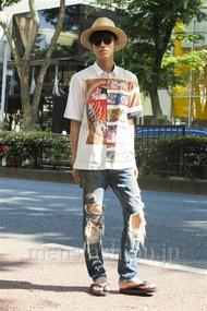 ファッションコーディネート原宿・表参道 2014年07月 くろさん