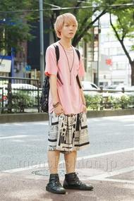 ファッションコーディネート原宿・表参道 2014年07月 高橋 司さん