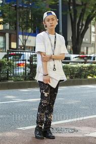 ファッションコーディネート原宿・表参道 2014年07月 田縁海人さん