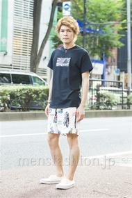 ファッションコーディネート原宿・表参道 2014年07月 中沢和貴さん
