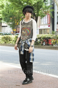 ファッションコーディネート原宿・表参道 2014年07月 勝田俊介さん