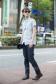 ファッションコーディネート原宿・表参道 2014年07月 齊藤亮太さん