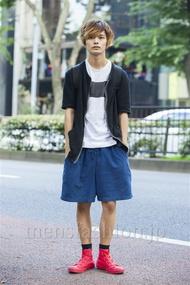 ファッションコーディネート原宿・表参道 2014年07月 長坂睦生さん