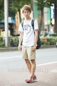 ファッションコーディネート原宿・表参道 2014年07月 品川 翔さん