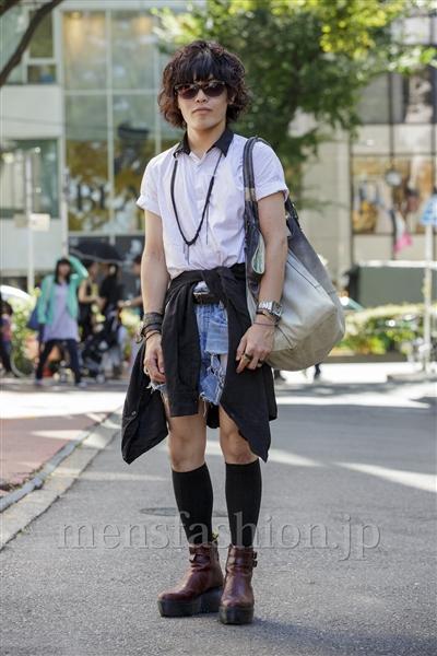 ファッションコーディネート原宿・表参道 2014年08月 nabescoさん