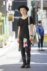ファッションコーディネート原宿・表参道 2014年08月 五味渕佳祐さん