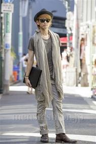 ファッションコーディネート原宿・表参道 2014年08月 齊藤亮太さん