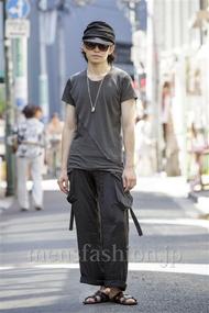 ファッションコーディネート原宿・表参道 2014年08月 梅村陽介さん