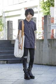 ファッションコーディネート原宿・表参道 2014年08月 勝田俊介さん