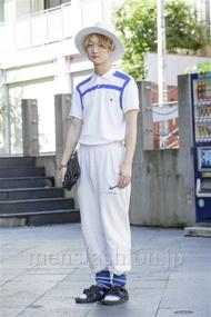 ファッションコーディネート原宿・表参道 2014年08月 中村雄樹さん