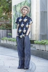 ファッションコーディネート原宿・表参道 2014年08月 田縁海人さん