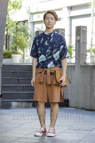 ファッションコーディネート原宿・表参道 2014年08月 髙野 烈さん