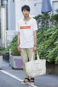 ファッションコーディネート原宿・表参道 2014年08月 宮下佳佑さん