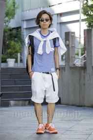 ファッションコーディネート原宿・表参道 2014年08月 青木健真さん