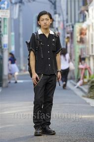 ファッションコーディネート原宿・表参道 2014年08月 渋井僚太さん