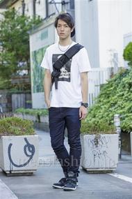 ファッションコーディネート原宿・表参道 2014年08月 ダニエルさん