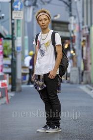 ファッションコーディネート原宿・表参道 2014年08月 新田快広さん