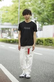ファッションコーディネート原宿・表参道 2014年08月 佐藤貴龍さん