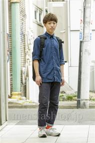 ファッションコーディネート原宿・表参道 2014年08月 Rikuさん
