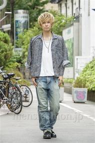 ファッションコーディネート原宿・表参道 2014年08月 糸川耀士郎さん