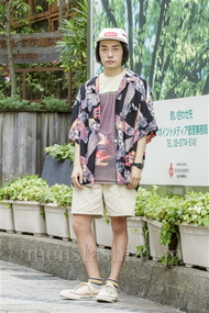 ファッションコーディネート原宿・表参道 2014年08月 井上貴弘さん