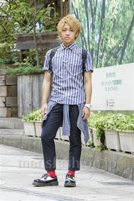 ファッションコーディネート原宿・表参道 2014年08月 庸介さん
