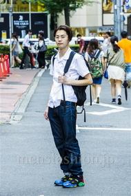 ファッションコーディネート原宿・表参道 2014年08月 斎藤章平さん