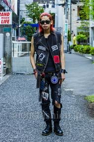 ファッションコーディネート原宿・表参道 2014年08月 石田直輝さん
