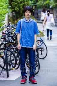 ファッションコーディネート原宿・表参道 2014年08月 内田 遼さん
