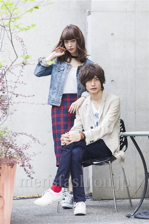 メンズファッションカップルスナップ14年9月