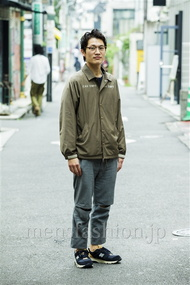 ファッションコーディネート原宿・表参道 2014年09月 ワタベショウマさん