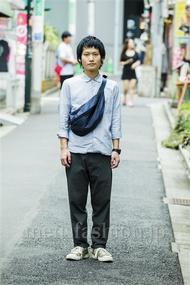 ファッションコーディネート原宿・表参道 2014年09月 真弓和樹さん
